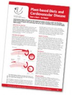 Plant-based Diets and Cardiovascular Disease Fact Sheet