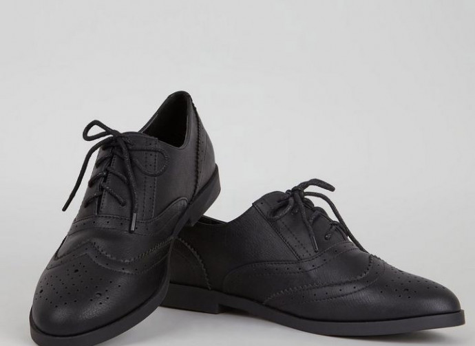 Non-Leather School Shoes 2018