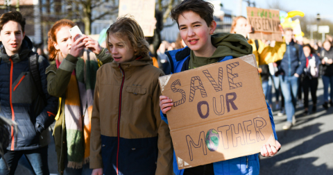 Children Strike Across the Globe to Address Global Warming