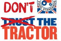 April Fool's Day – Don't Be Fooled by the Red Tractor